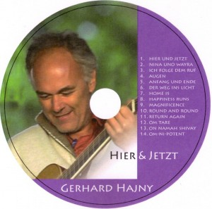 """Hier & Jetzt"" CD-Label"